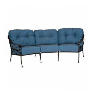 Very Crescent Shaped Outdoor Sofa | Wayfair HN84