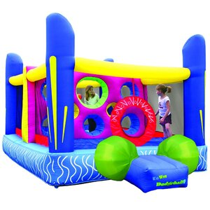 Jump'n Dodgeball Bounce House