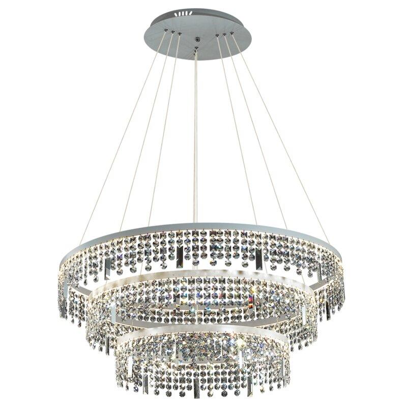 casa regal led kronleuchter 3 flammig elegance. Black Bedroom Furniture Sets. Home Design Ideas