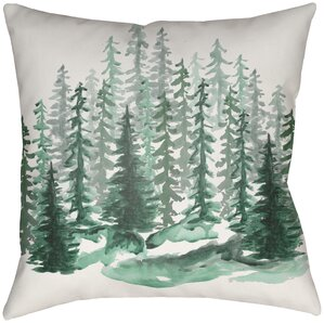 lodge cabin throw pillow