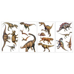 Lifelike Dinosaur Wall Decal