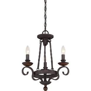 Outdoor candle chandelier wayfair allston 3 light candle style chandelier aloadofball Choice Image