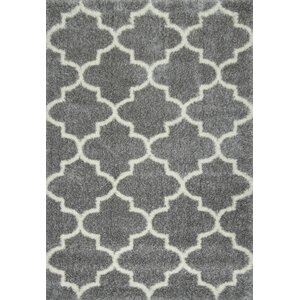 Zalacain Gray Area Rug