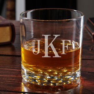 Buckman Personalized 10.25 oz. Whiskey Glass