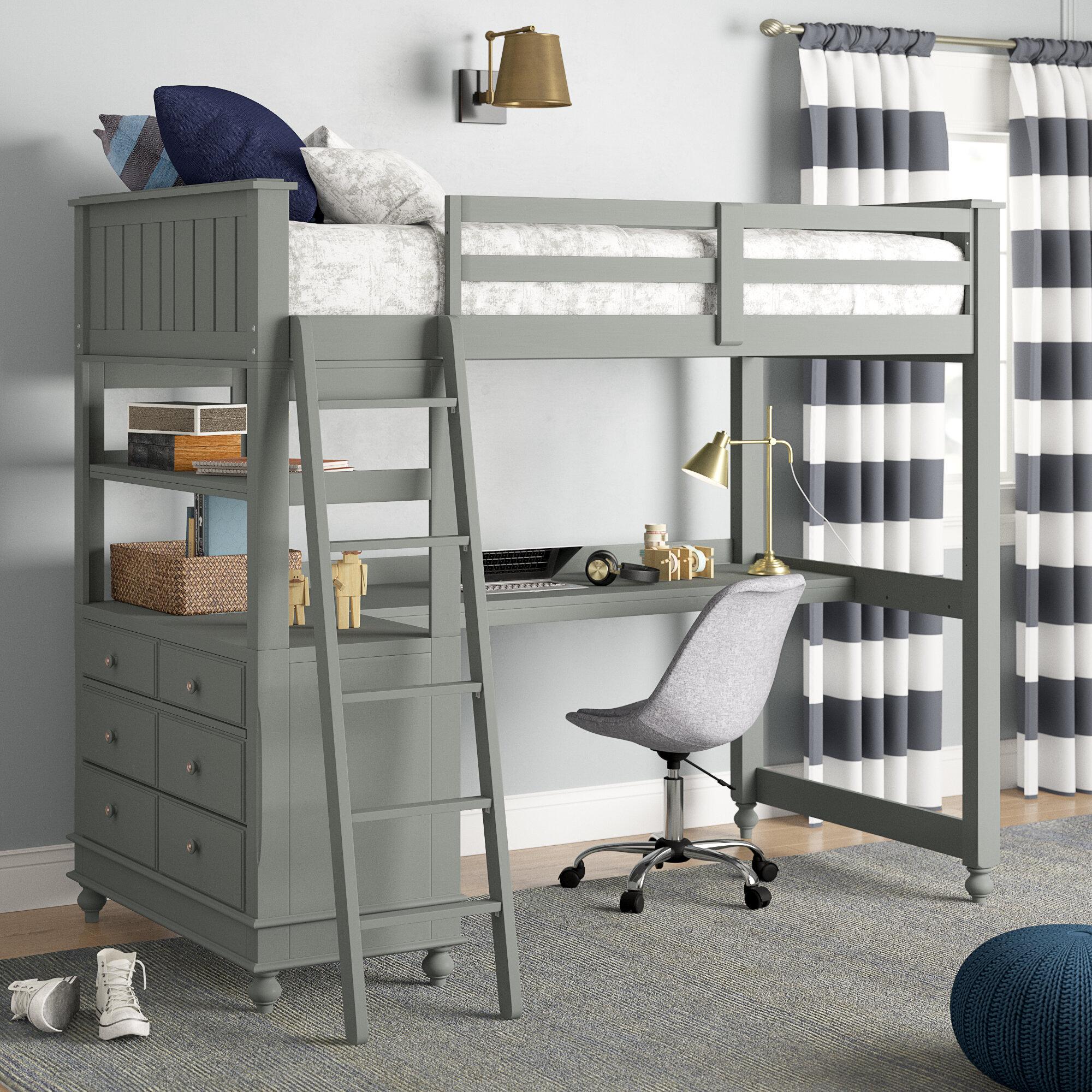 Wayfair.com & Desk Full Loft Beds You\u0027ll Love in 2019 | Wayfair