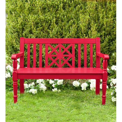 Darby Home Co Mahler Wood Garden Bench & Reviews | Wayfair