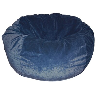 Ahh! Products Bean Bag Chair Upholstery: Navy