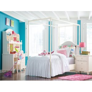 Otto Metal Canopy Configurable Bedroom Set by Viv + Rae