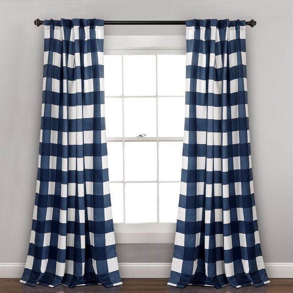 Checkered Flag Curtains | Wayfair