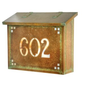 pasadena wall mounted mailbox - Wall Mount Mailboxes