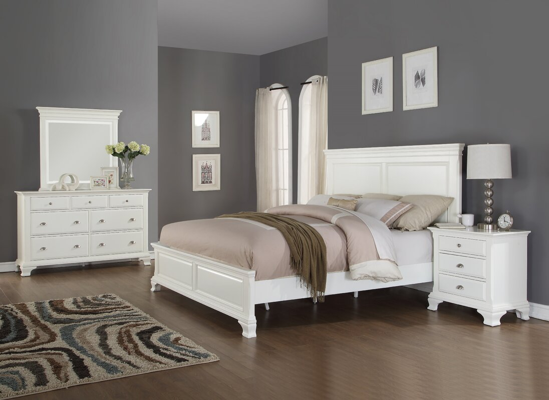Darby Home Co Fellsburg Panel 4 Piece Bedroom Set Reviews