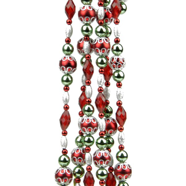 christmas bead garland wayfair - Christmas Beaded Garland Decorations
