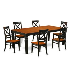 Beesley 7 Piece Rectangular Dining Set by..