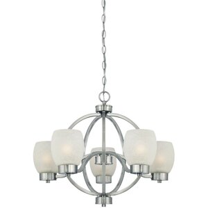 Boulevard 5-Light Shaded Chandelier