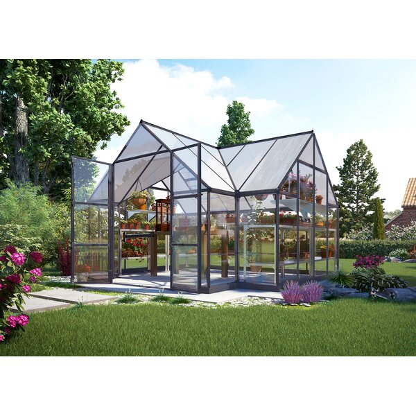 Chalet 12 Ft  W  x 10 Ft  D Greenhouse