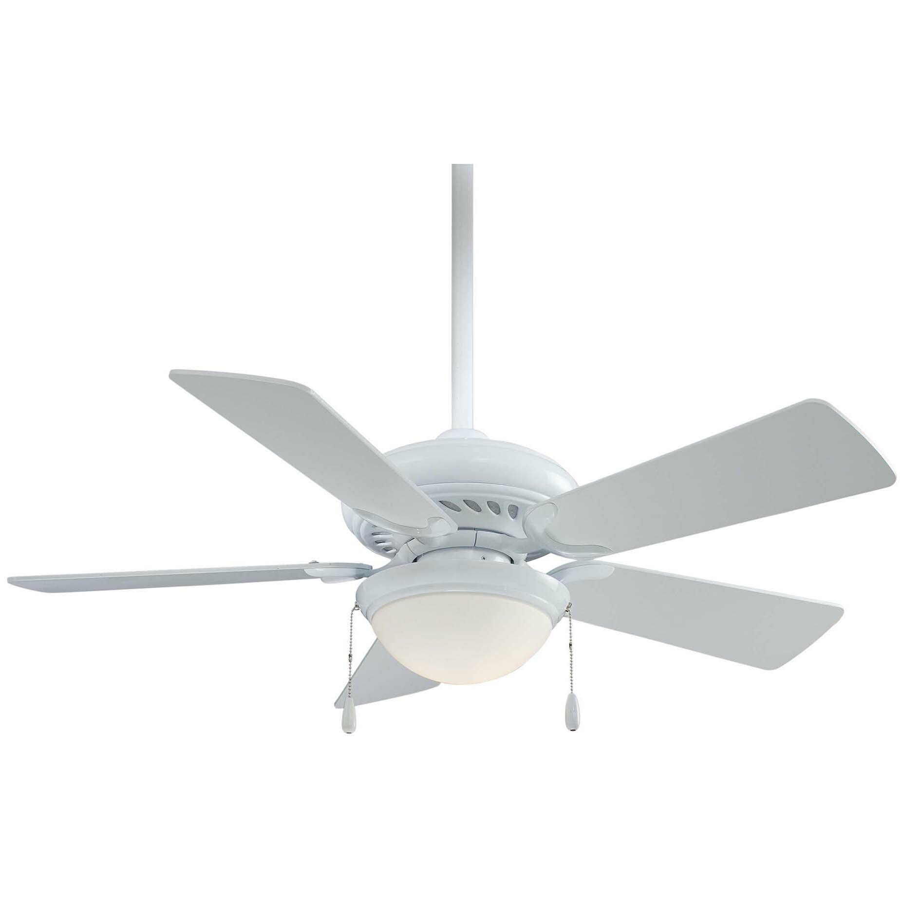 "Minka Aire 44"" Supra 5 Blade LED Ceiling Fan & Reviews"