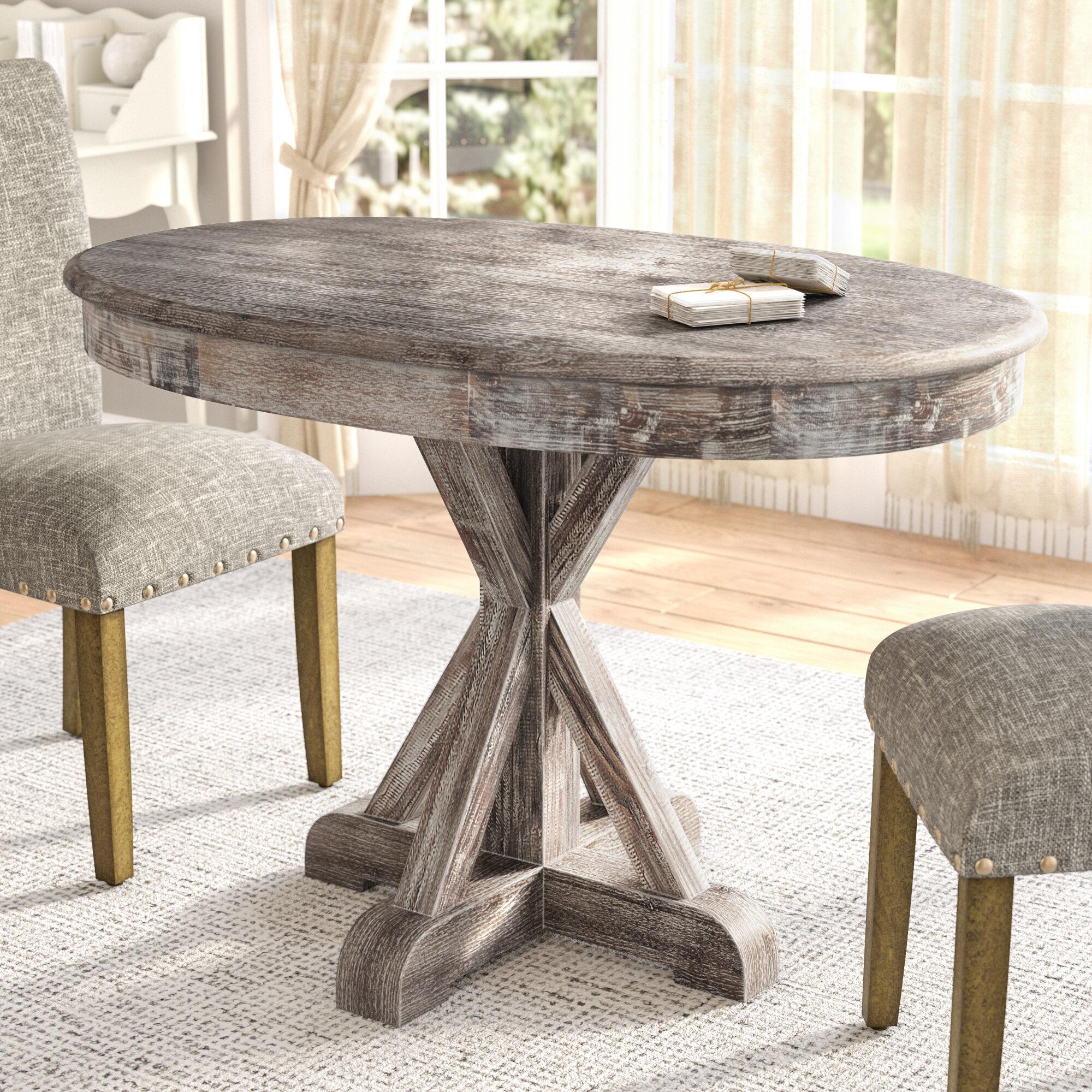 Greyleigh maryanne oval dining table reviews wayfair
