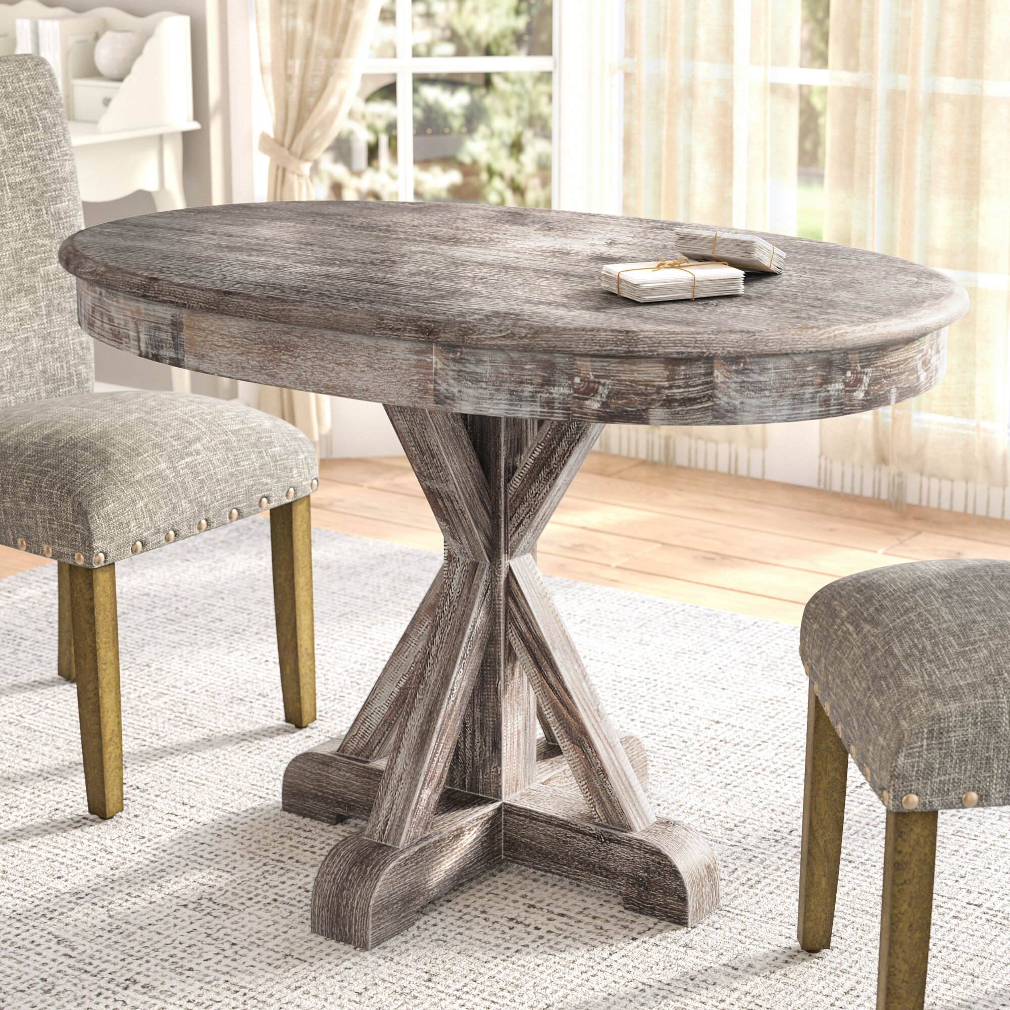 Etonnant Lark Manor Thimeo Oval Dining Table U0026 Reviews | Wayfair