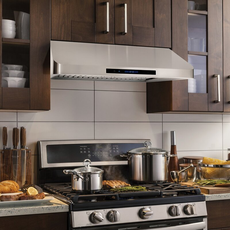 36 900 Cfm Ducted Under Cabinet Range Hood