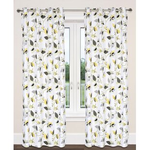 Leaf Print Curtains