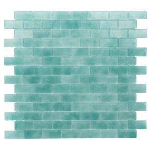 aqua kitchen backsplash tile wayfair rh wayfair com  aqua glass kitchen backsplash tiles
