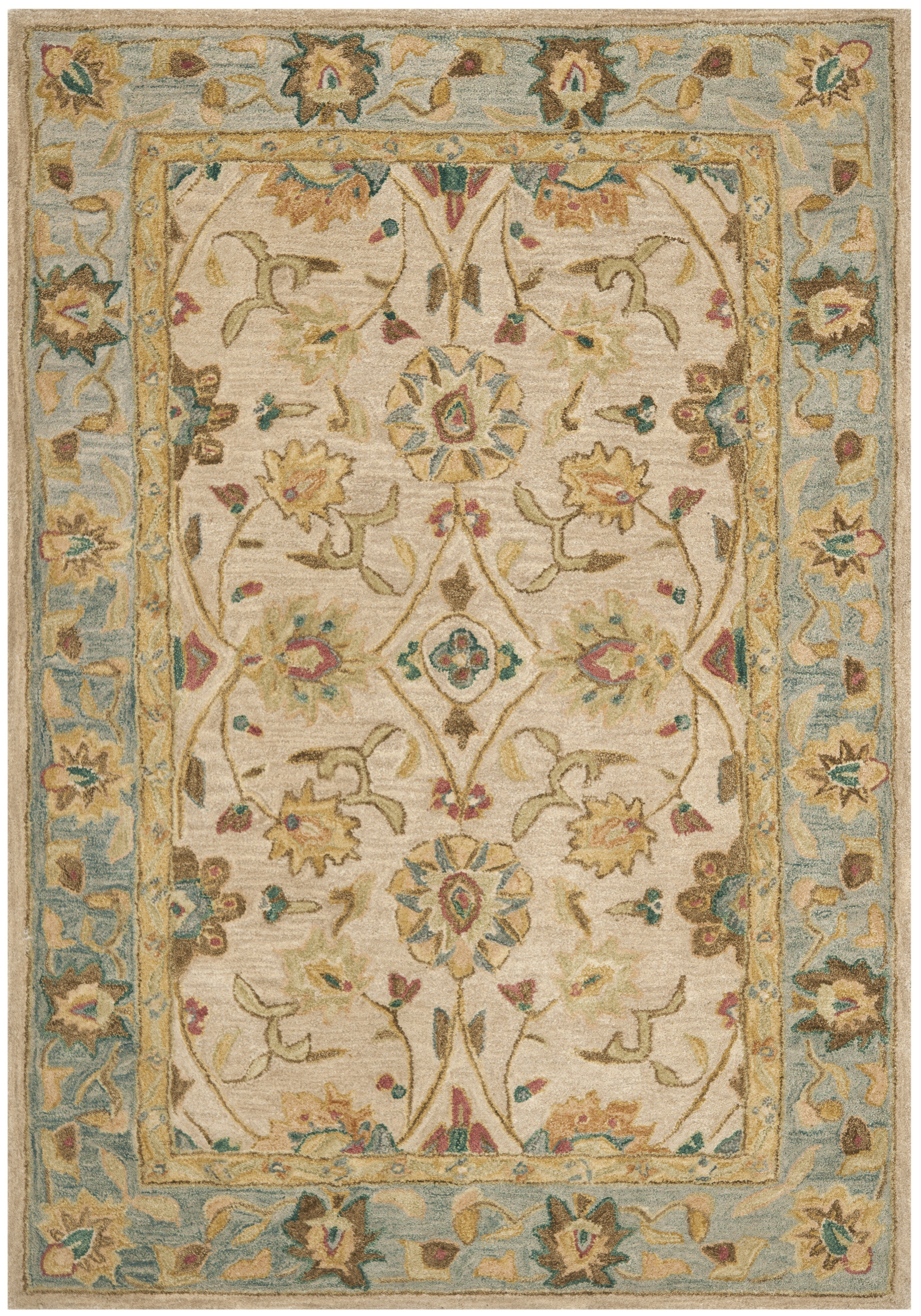 Safavieh Anatolia Ivory Blue Area Rug Reviews Wayfair