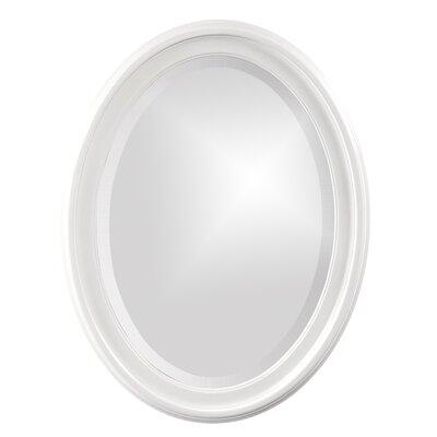 House of Hampton Houstonia Wall Mirror Finish: White