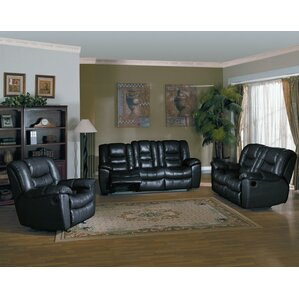 Cambridge 3 Piece Living Room Set by Red Bar..