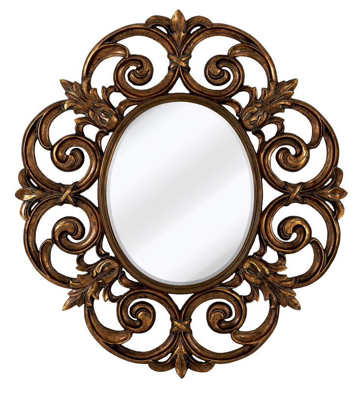 Majestic Mirror Large Traditional Round Decorative Oval Shaped ...