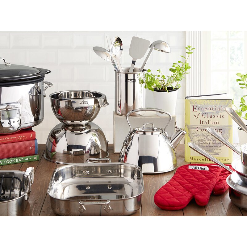 Stainless Steel 5 Piece Cookware Set