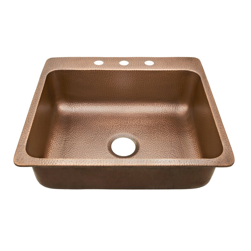 Sinkology rosa single bowl 25 x 22 drop in kitchen sink reviews rosa single bowl 25 x 22 drop in kitchen sink workwithnaturefo