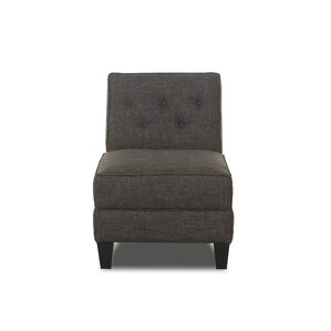 Bellamy Armless Slipper Chair by Klaussner F..