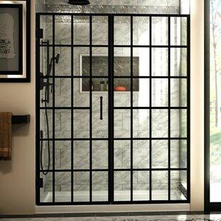 Window Pane Shower Door.Dreamline Unidoor X 66 1 2 67 In W X 72 In H Frameless