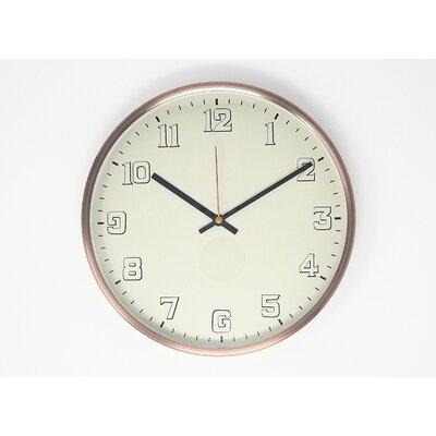 Helfgott 12 Analog Wall Clock Ebern Designs
