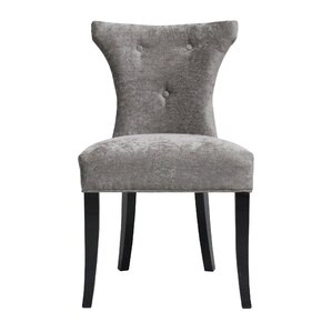 Careen Gray Side Chair (Set of 2) by Rosd..