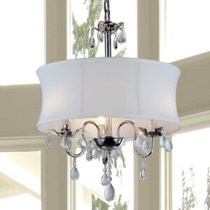 Hopkins 3-Light Drum Chandelier