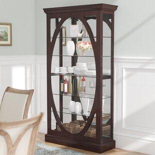 Tiano Solid Freestanding Curio Cabinet