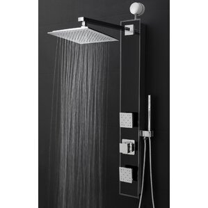 Temperature Control Tower Shower Panel System Diverter
