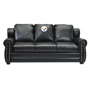 Nfl Coach Leather Sofa