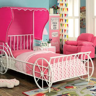 Half Moon Bay Novelty Full Slat Bed with Tent & Tent Kidsu0027 Beds Youu0027ll Love | Wayfair