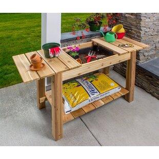 Outdoor Garden Potting Benches | Wayfair