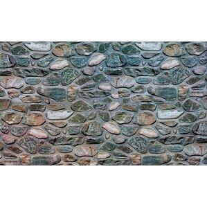 agathe welcome inlaid stones doormat