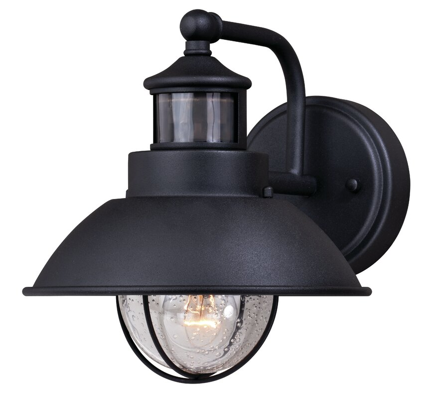 Vaxcel Harwich Dualux® 1-Light Outdoor Barn Light & Reviews | Wayfair