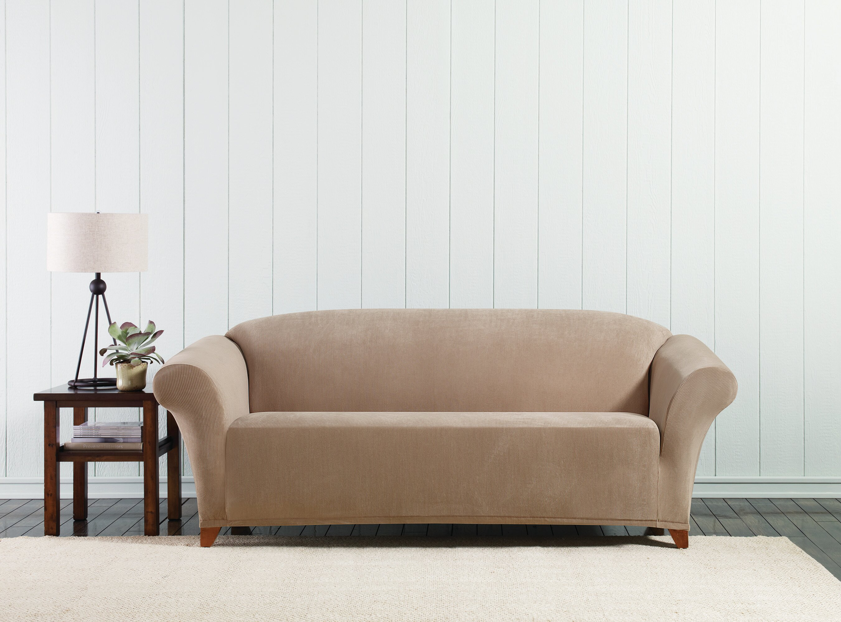 slipcovers diamond double sofa p slipcover stretch loveseat