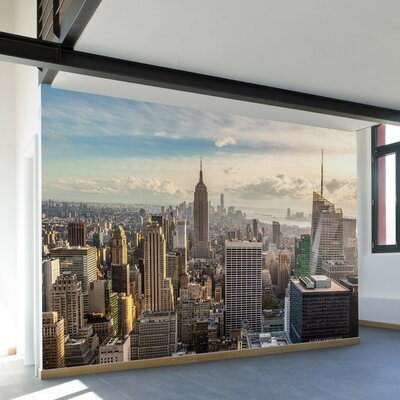 Walls Need Love New York Skyline Wall Mural Wayfair
