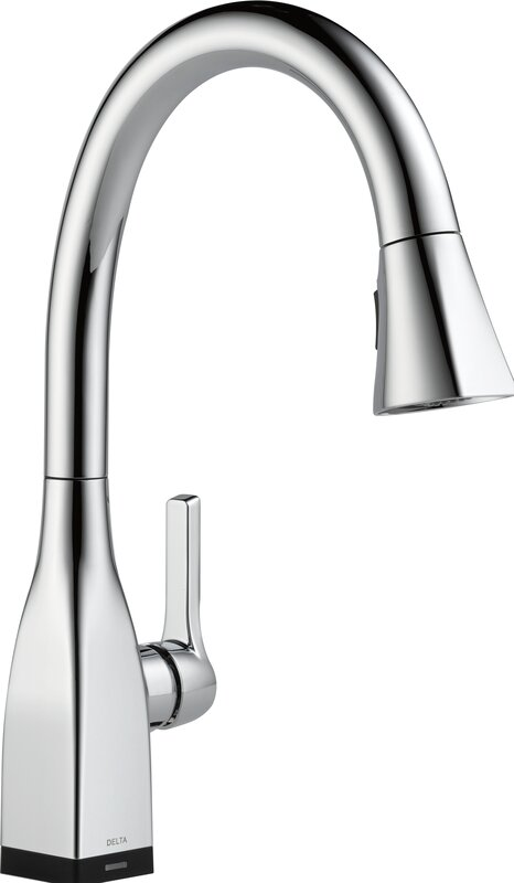 Mateo Pull Down Touch Single Handle Kitchen Faucet With LED Light