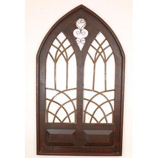 Fake window wall decor wood wayfair save to idea board ppazfo
