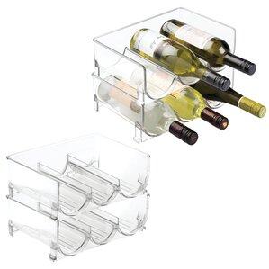 Fridge Binz Stackable 3 Wine Bottle Rack ..