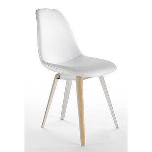 Slice Genuine Leather Upholstered Dining Chair