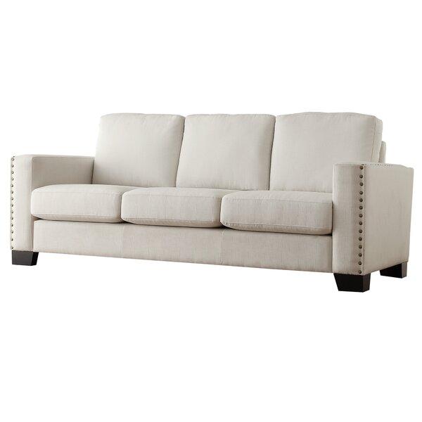 Beautiful Nailhead Trim Sofa   Wayfair